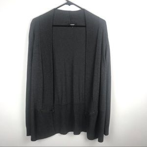 Premise Studio Large Open Front Sweater Cardigan